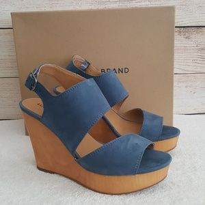 New Lucky Brand Lattela Wedge Sandals